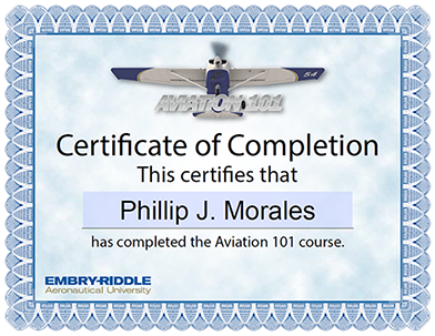 Embry-Riddle Aviation 101